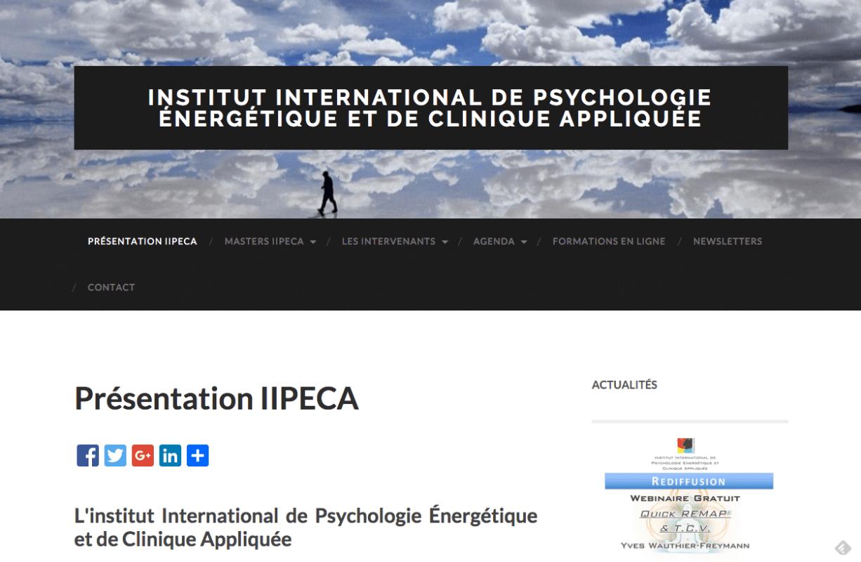 Institut International de Psychologie énergetique Clinique Appliquee