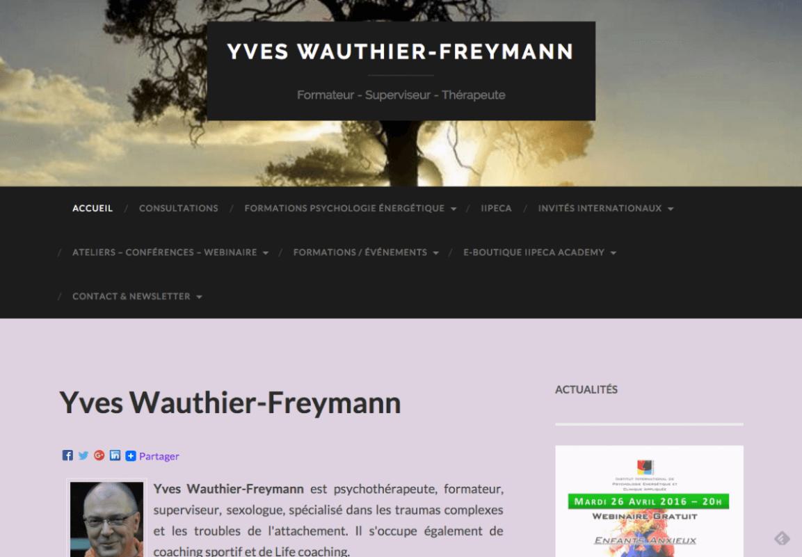 Yves Wauthier-Freymann – Psychothérapeute
