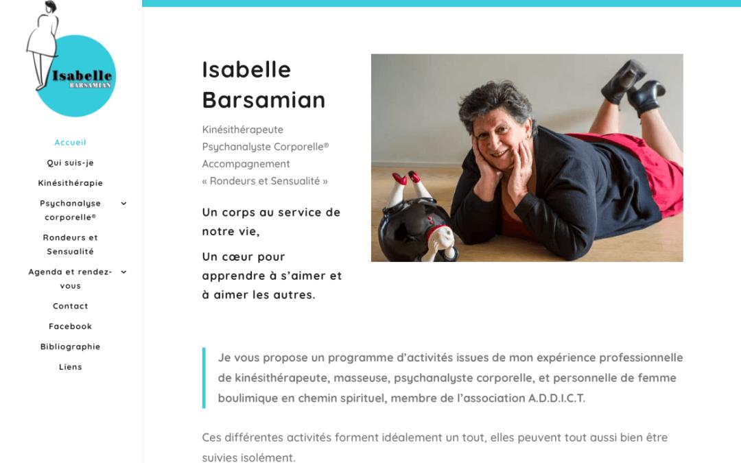Isabelle Barsamian – Psychanalyste corporelle