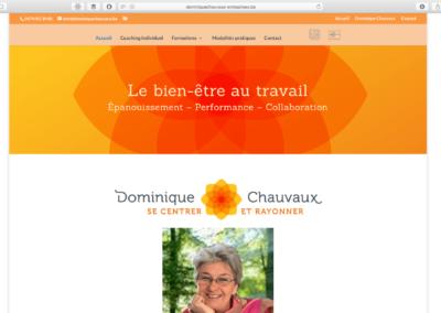 Dominique Chauvaux site Entreprises