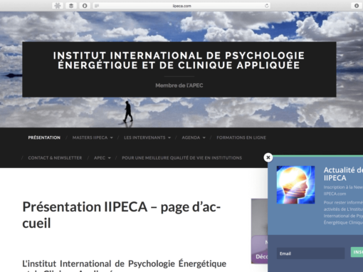 Institut International de Psychologie énergétique Clinique Appliquée