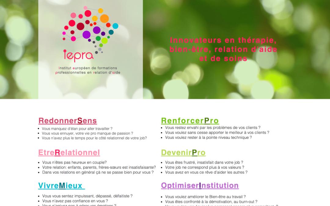 iepra propose des formations pour les thérapeutes