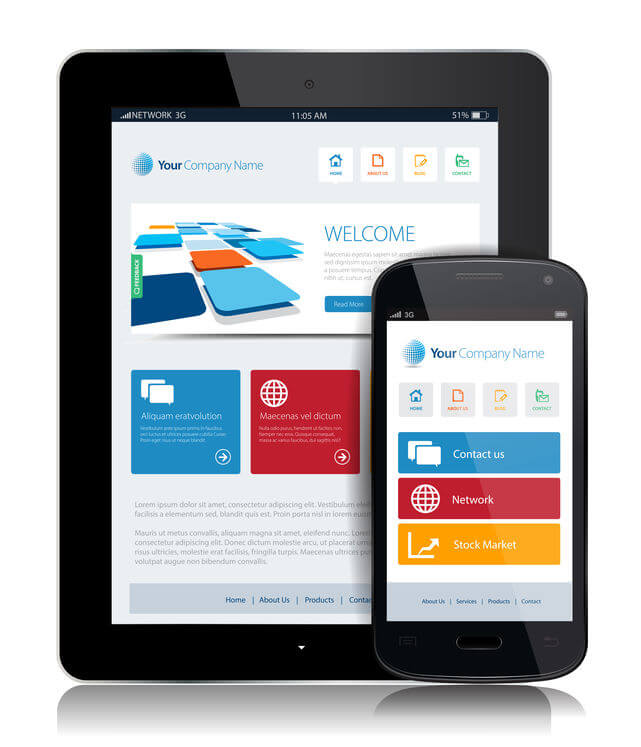 responsive website réactif mobile-friendly